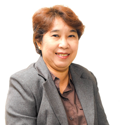 PLM Business School Dean Angelita Serrano