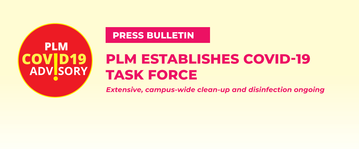 PLM establishes COVID-19 Task Force