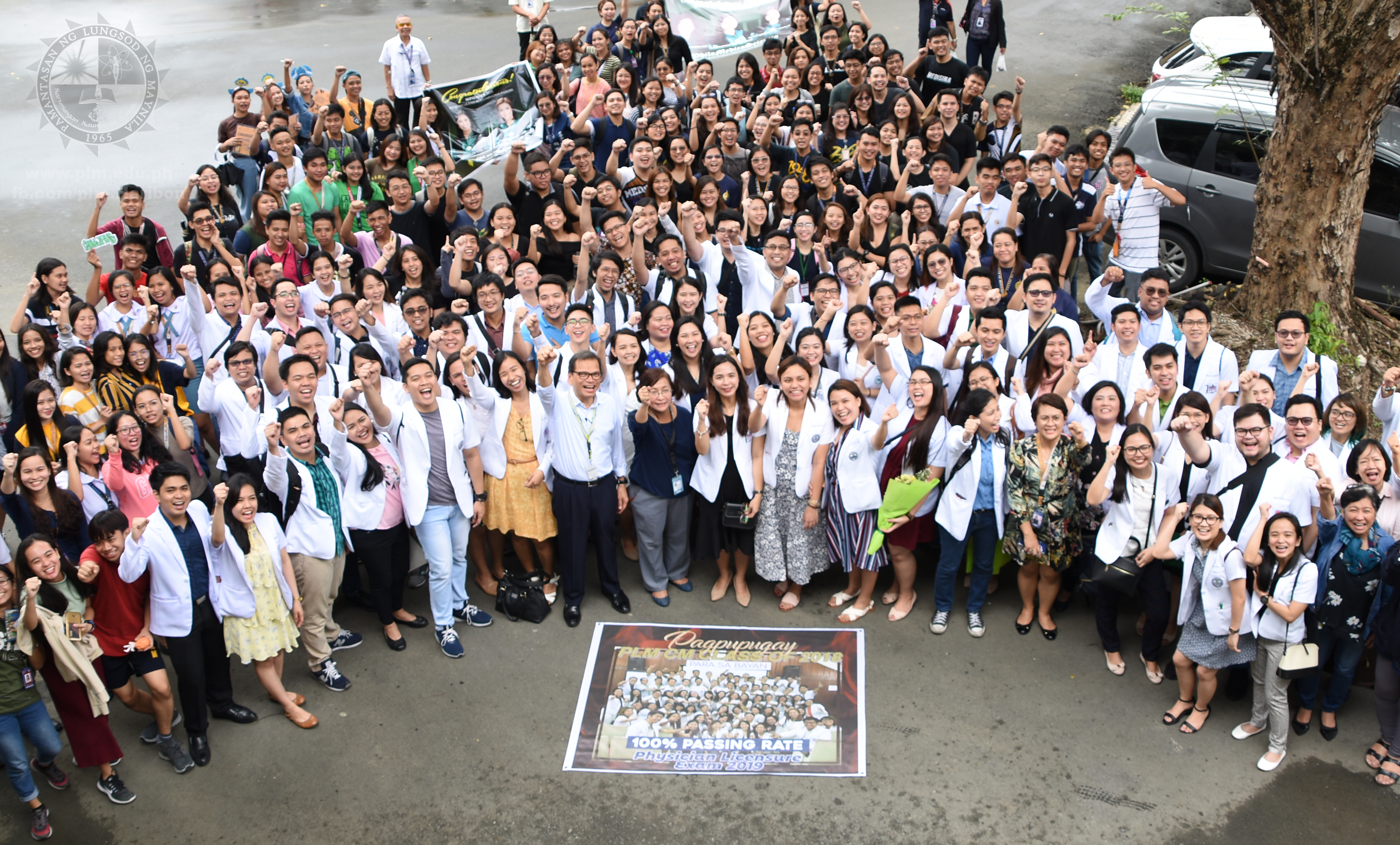 PLM gets 100% passing rate, holds recognition rite for MD board passers