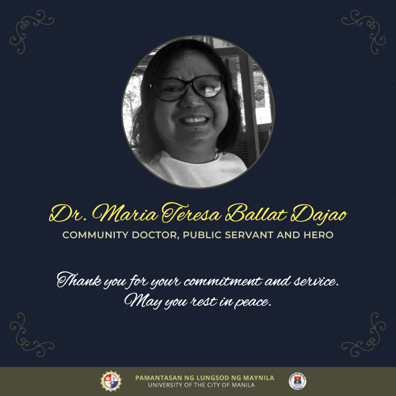 PLM mourns passing of Dr. Dajao