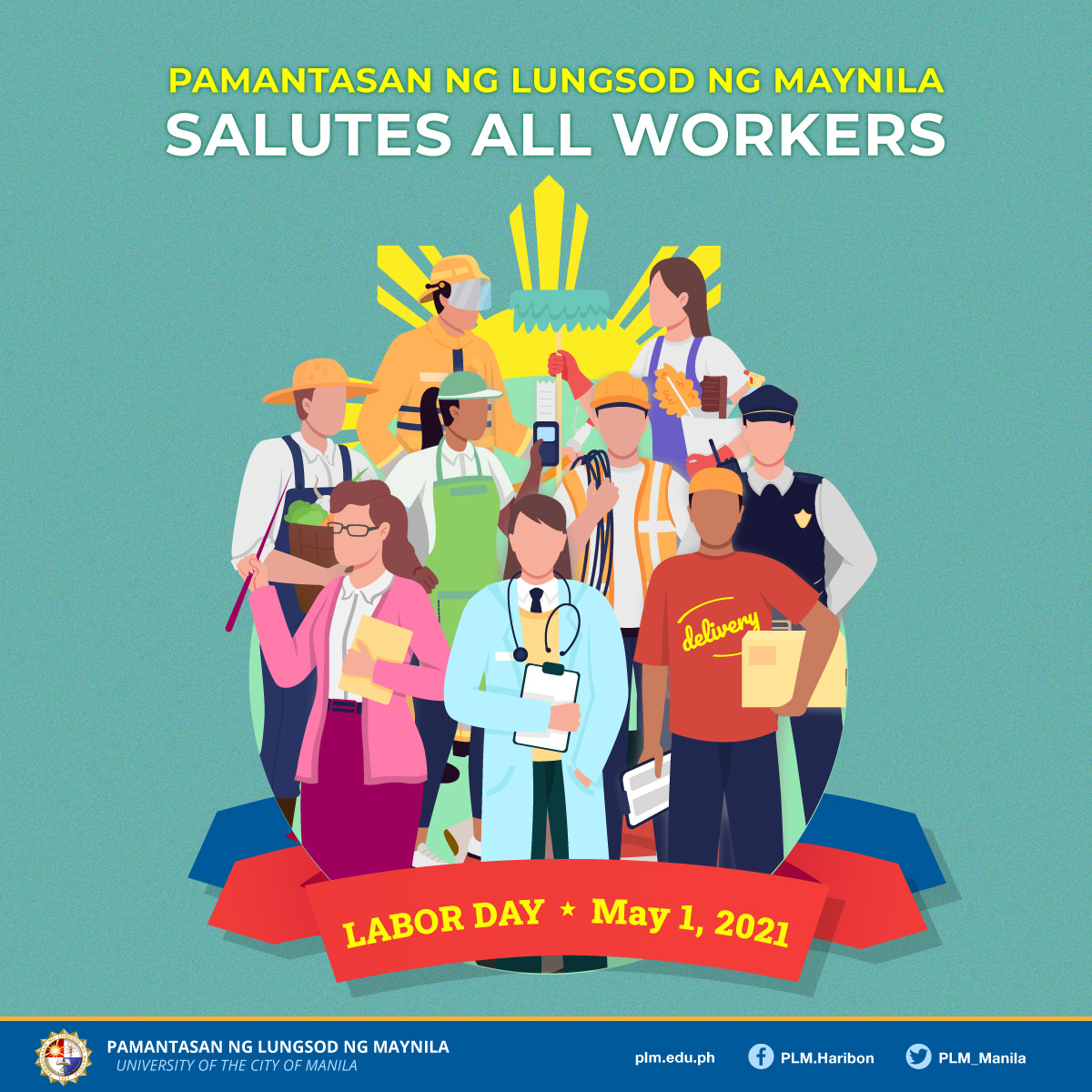 PLM salutes all Filipino workers