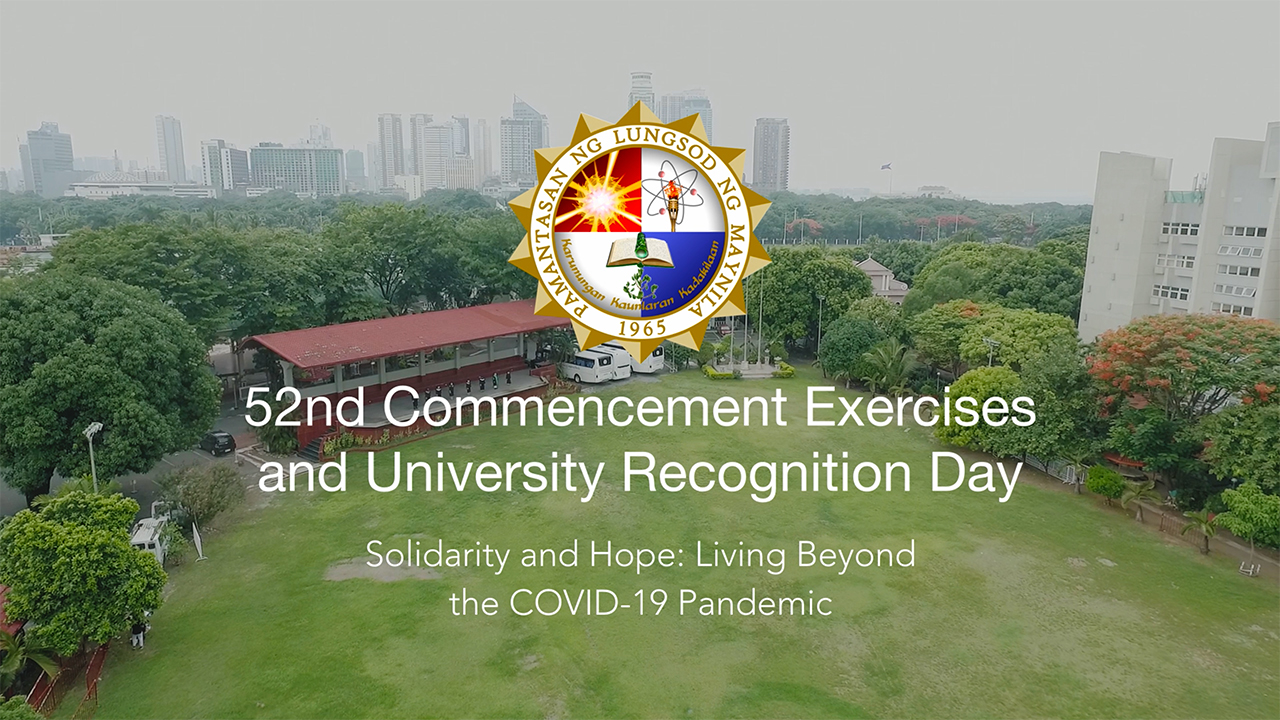 Watch: PLM's 52nd Commencement Exercises